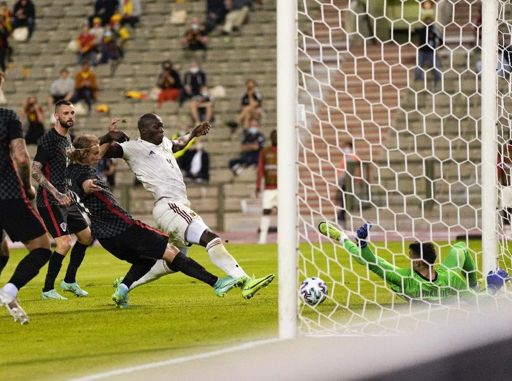 Belgia Vs Kroasia: Gol Tunggal Lukaku Menangkan The Red Devils