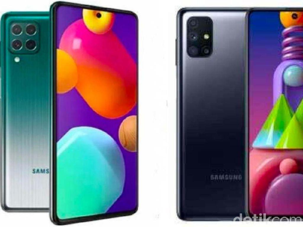 Bawa Baterai 7.000 mAh, Pilih Samsung Galaxy M62 atau Galaxy M51?