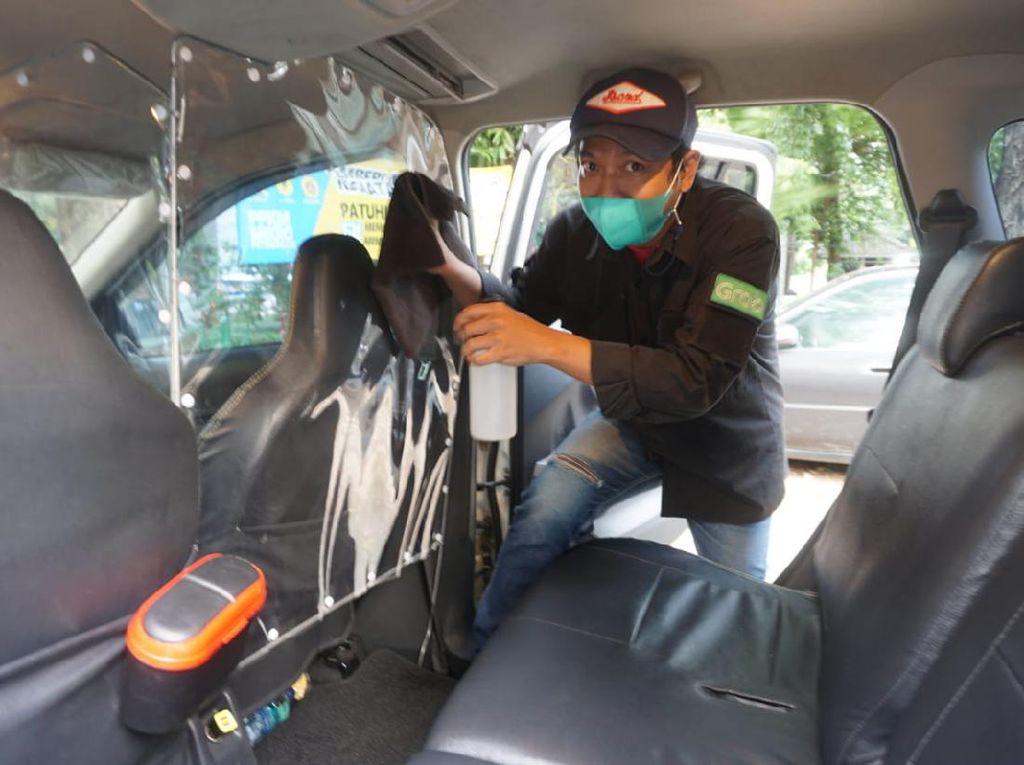 Grab Jawab Perihal Sopir Taksi Online Tolak Antar Pasien Corona