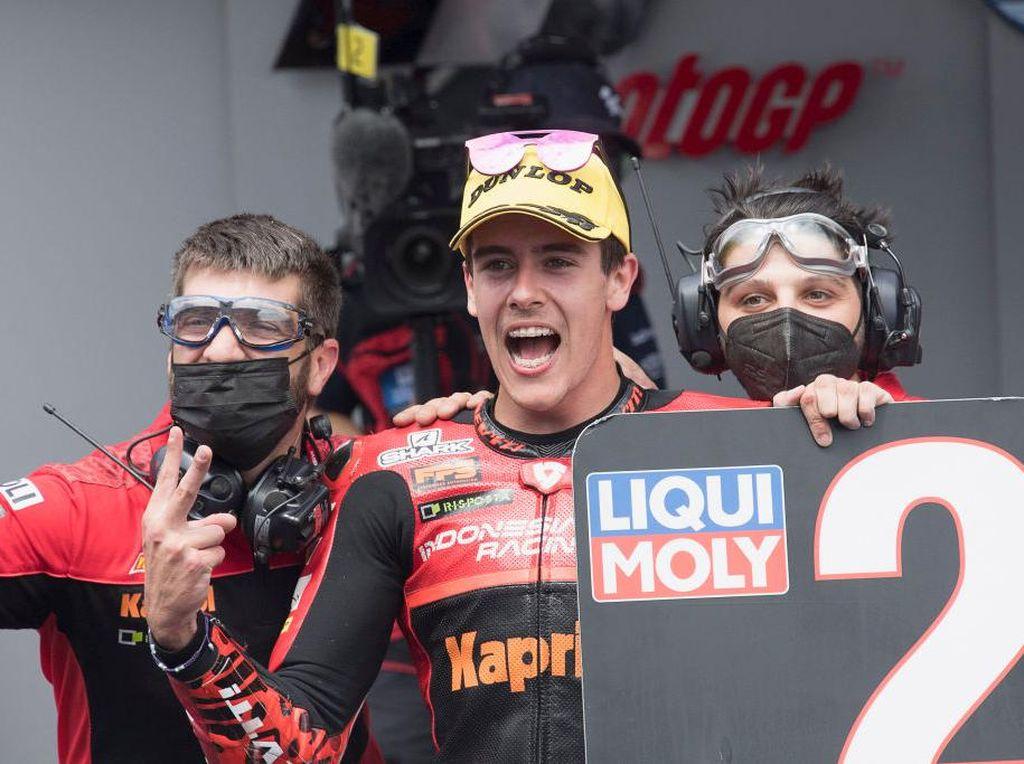 Indonesia Racing Team Podium kedua di Moto3 Catalunya 2021