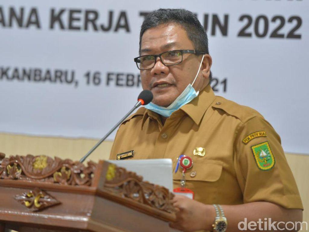 Pemprov Riau Ingatkan Warga Tak Mau Divaksin Bisa Kena Sanksi