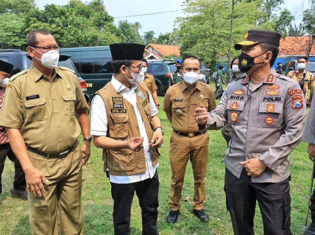 Kapolda Jatim Sebut Kunci Tangani COVID-19 Bangkalan Ada di Warga Taat Prokes