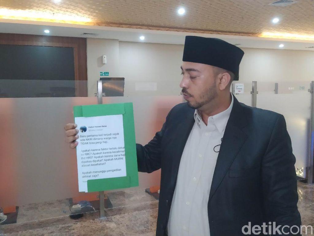 Hendak Polisikan Haikal Hassan, Cyber Indonesia Diminta Lengkapi Bukti