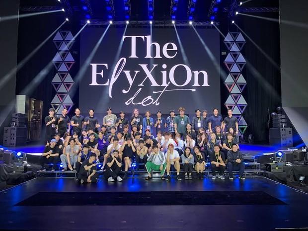 Konser EXO/Sumber:instagram.com/real__pcy