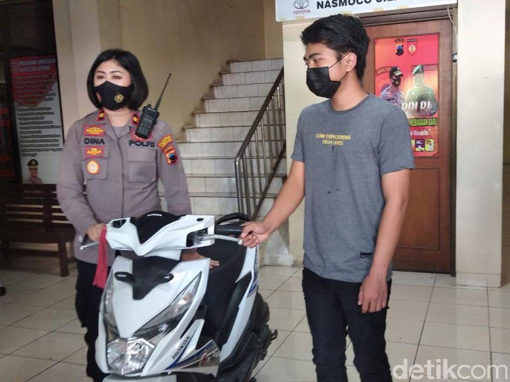 Miris! 2 Bocah SD di Semarang Nekat Curi Motor Buat Jalan-jalan