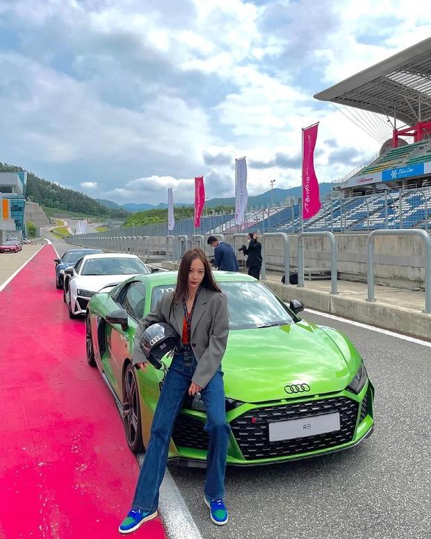 Krystal Jung saat menjadi brand ambassador Audi