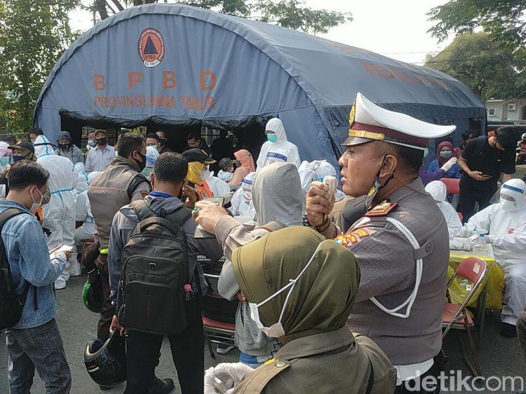 1 Warga Positif Covid-19 Kabur ke Surabaya Saat Penyekatan Suramadu