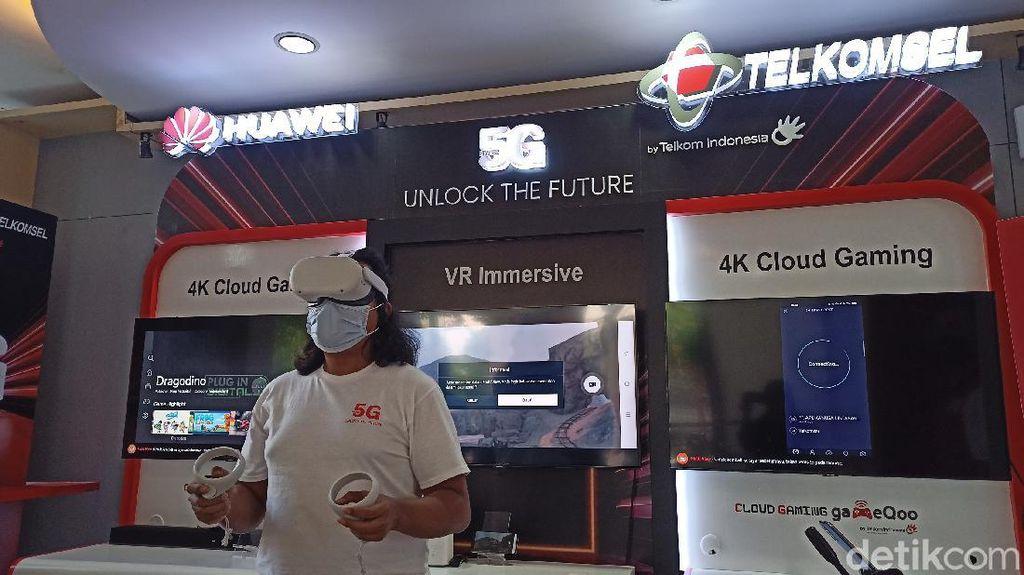 Wush! 5G Melesat 602 Mbps di Surabaya