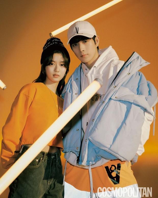 Keduanya tampil dalam pemotretan CF dan majalah bersama.