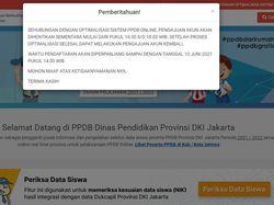Situs PPDB Jakarta Error, Ini Penyebabnya Serta Temuan Ombudsman