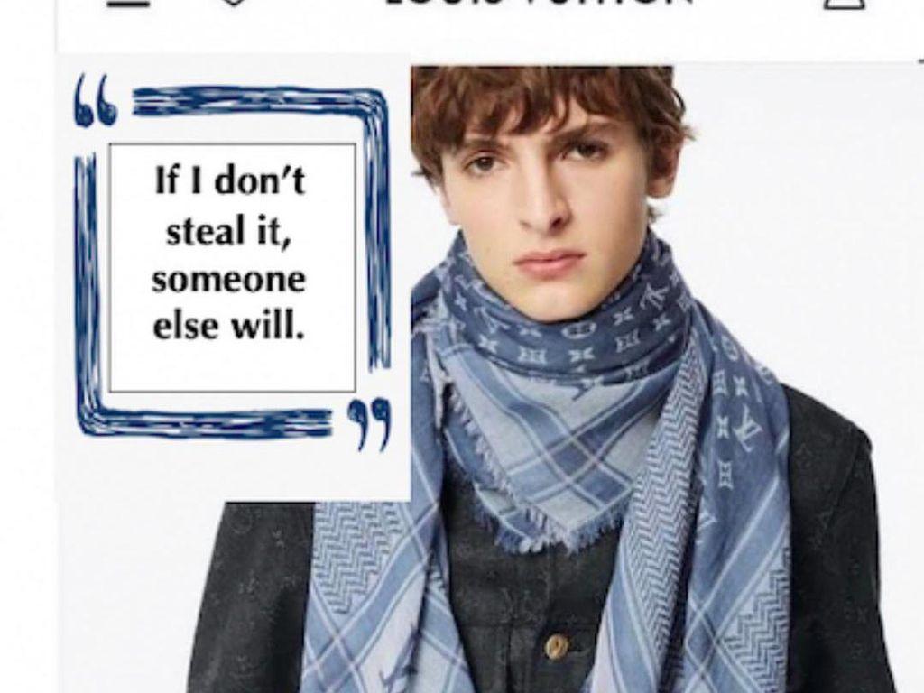 Louis Vuitton Rilis Scarf Rp 10 Jutaan yang Dituduh Jiplak Keffiyeh Palestina