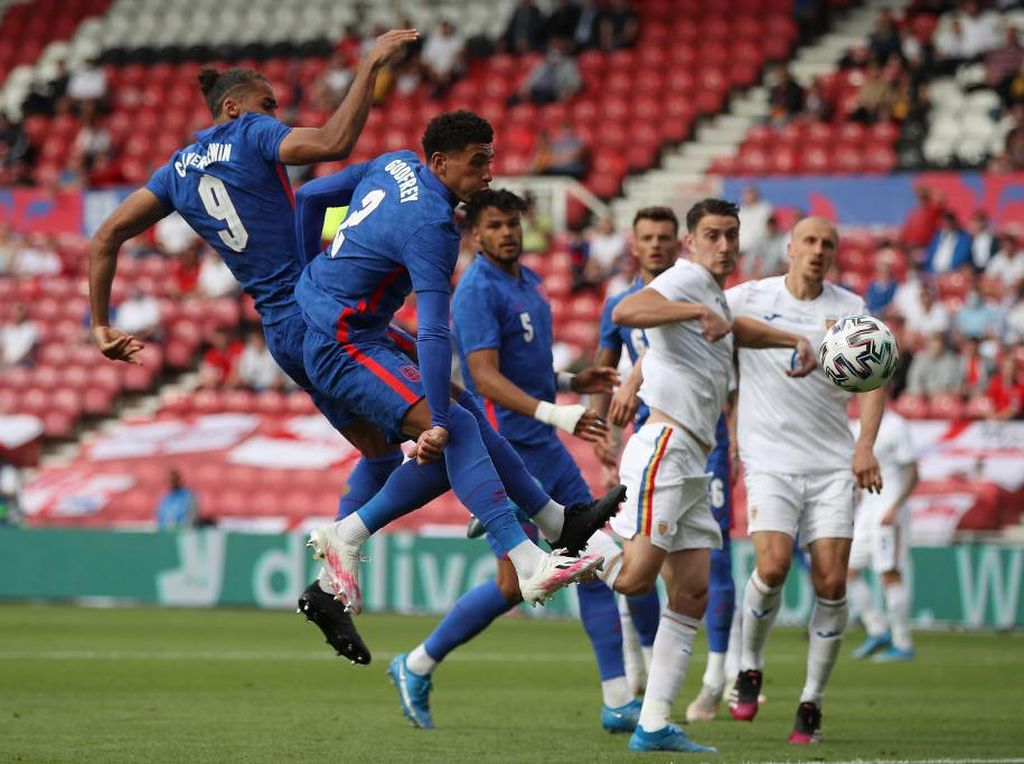 Uji Coba Inggris Vs Rumania: Penalti Rashford Menangkan The Three Lions
