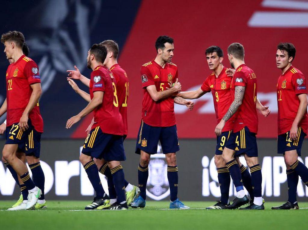 Jelang Euro 2020: Timnas Spanyol Divaksinasi Hari Ini