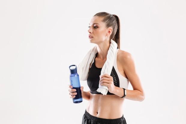 Fokus pada manfaat yang didapatkan saat berolahraga.