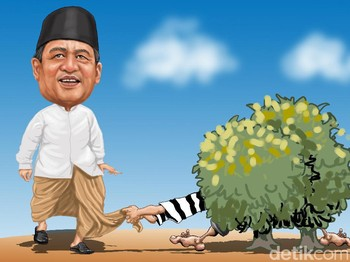 Asal Cair demi Gubernur Wahidin