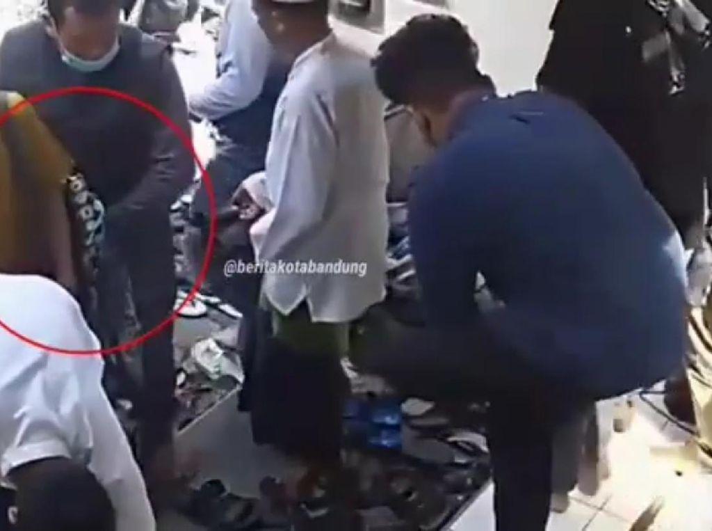 Polisi Selidiki Aksi Copet di Masjid Bandung yang Terekam CCTV