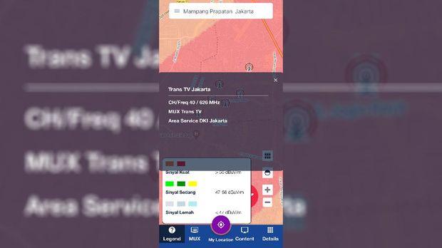 Aplikasi Sinyal TV Digital