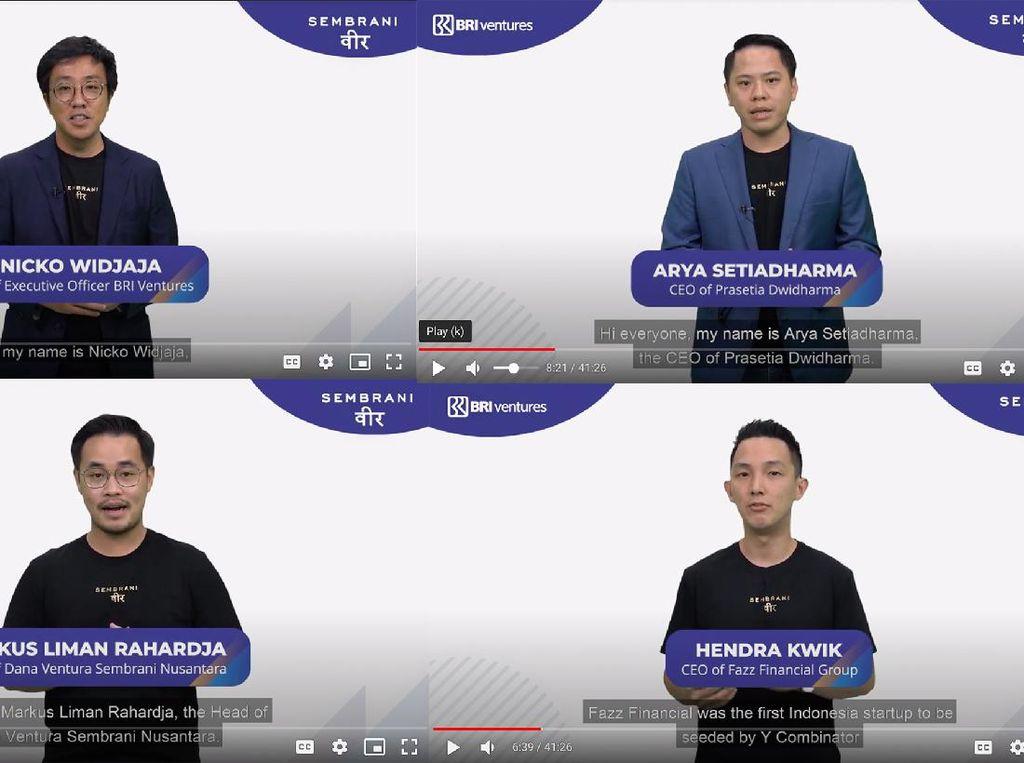 BRI Ventures Bina 8 Startup Lewat Akselerator Sembrani Wira