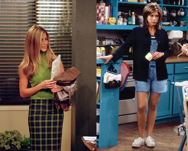Gaya berpakaian Rachel Green.
