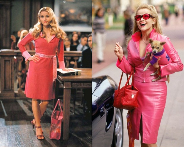 Elle Woods dalam film Legally Blonde.