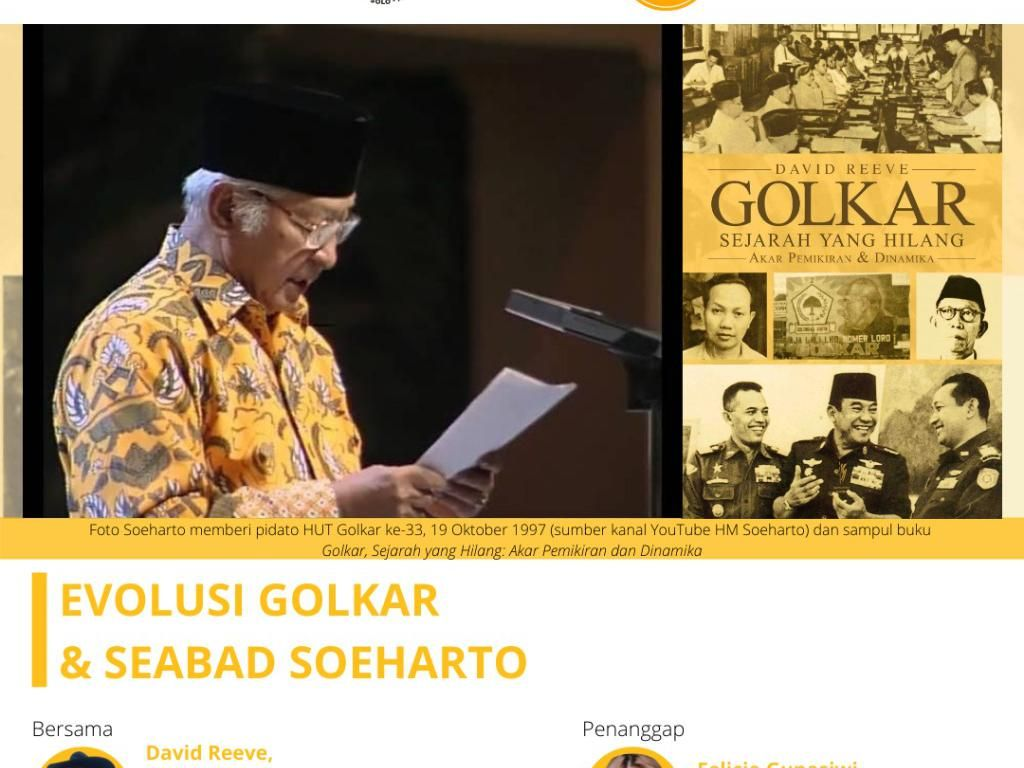 Kilas Balik Sejarah Golkar, Dicetuskan Sukarno Dibangun Soeharto
