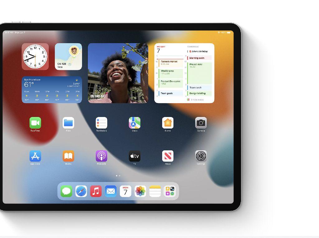 iPadOS 15 Bawa Fitur Baru, Bikin Produktivitas Makin Maksimal