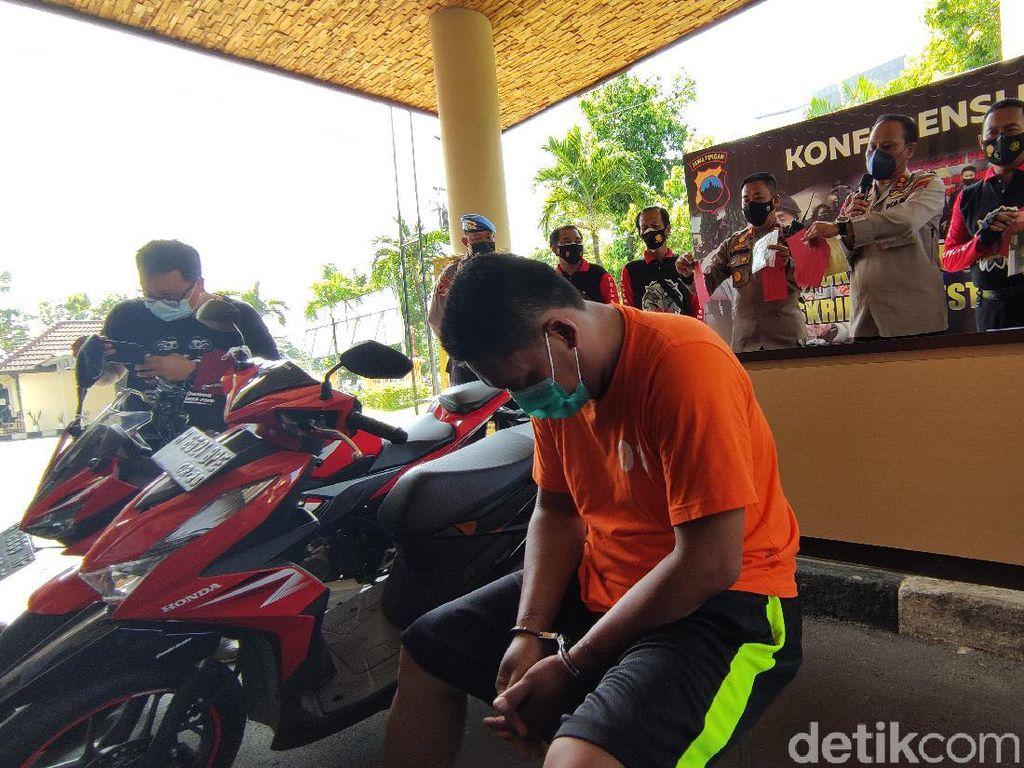 Curanmor Modus COD, Pria Ini Gondol 2 Motor di Semarang