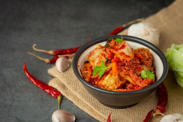 Kimchi untuk menghilangkan stres.