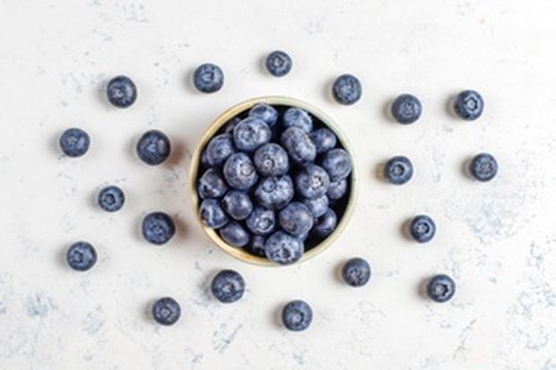 Blueberries sebagai makanan penghilang stres.