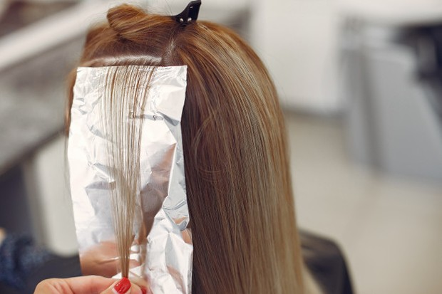 Memisahkan Rambut