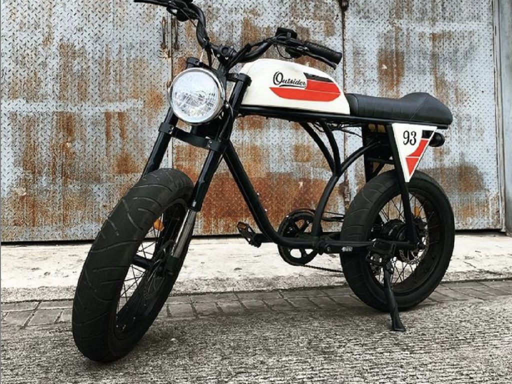Antik! Outsider, Sepeda Listrik Model Vintage Ini Ternyata Dijual di Indonesia, Lho