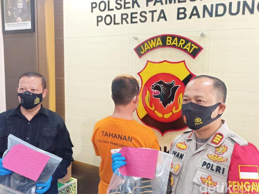 Ribut Gegara Klakson, Pemotor Mabuk Tinju Sopir di Bandung
