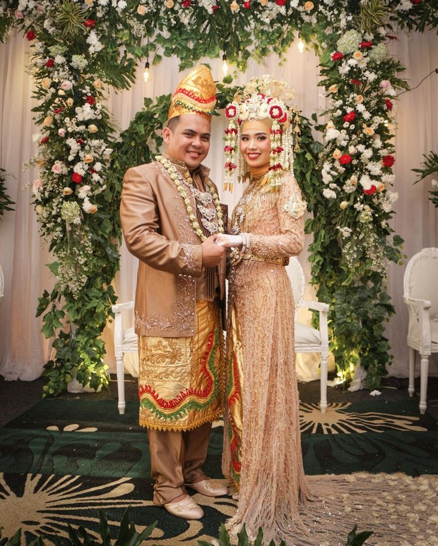 Pernikahan Adat Banjar, Kalimantan Selatan/Instagram.com/maulidaistania