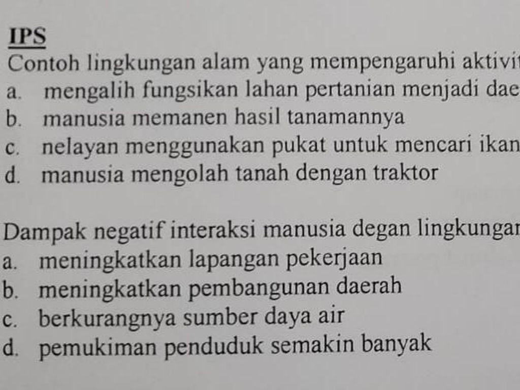 Soal Ujian SD di Riau Diprotes, Diduga Kampanye Negatif Terkait Sawit