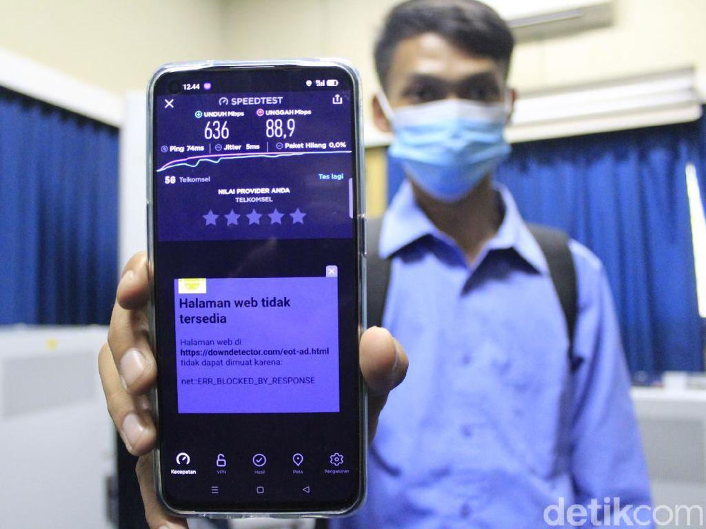 Speed Test 5G Ngebut di Bandung, Tembus 642 Mbps!