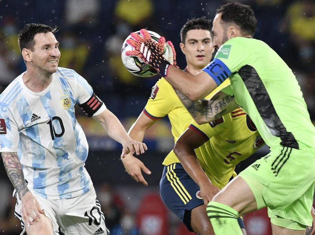 Kualifikasi Piala Dunia: Argentina Ditahan Kolombia 2-2