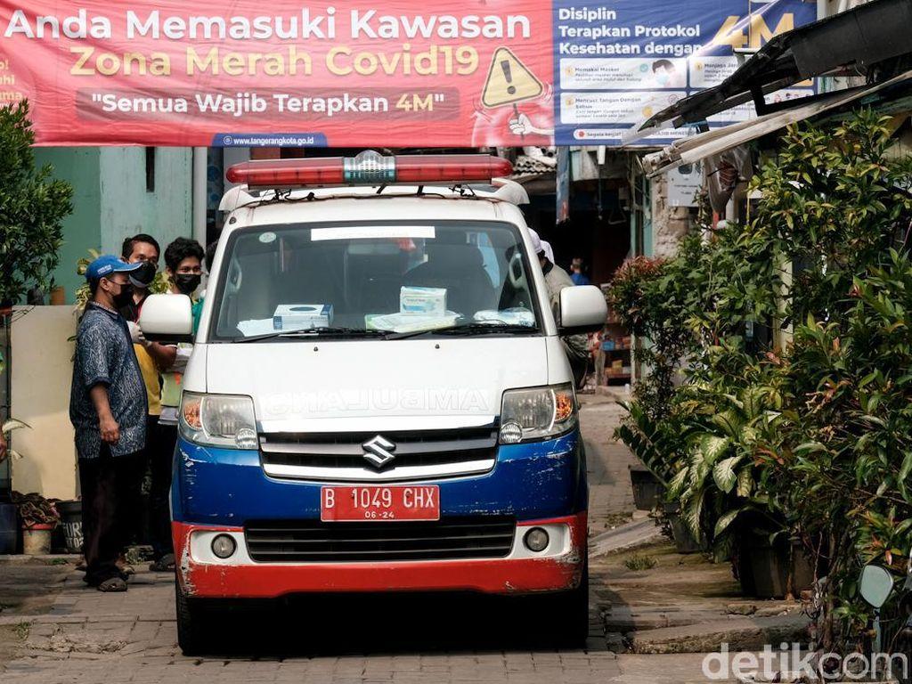 Ambulans Khusus COVID-19 Makin Sigap Jemput Pasien Positif