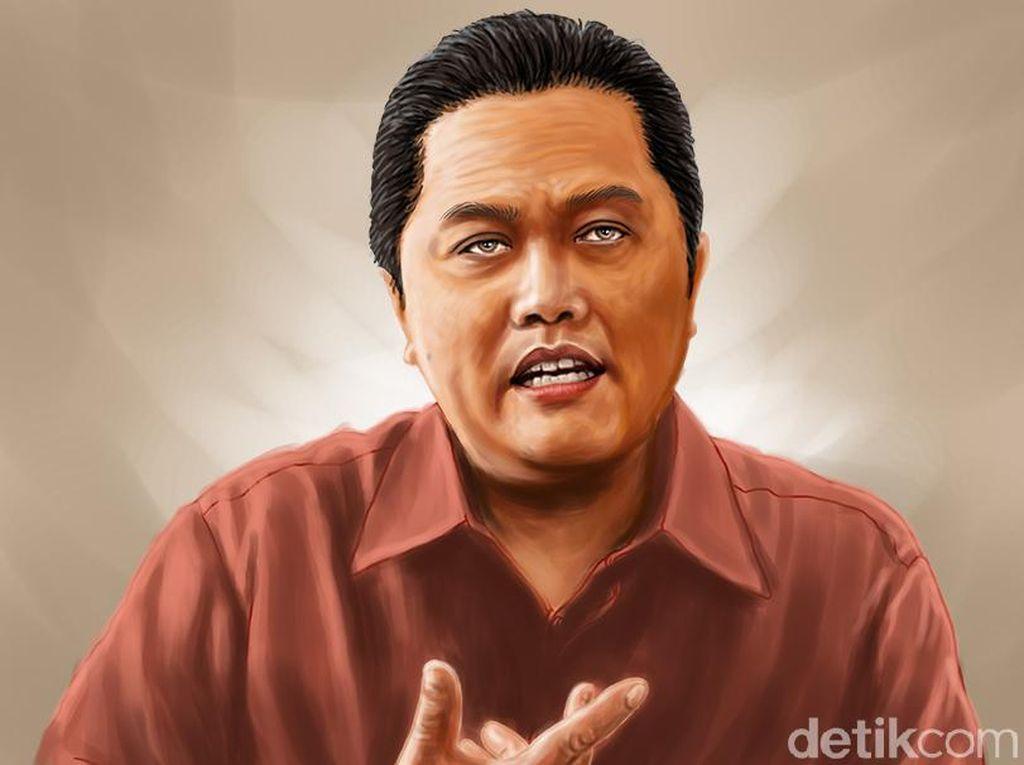 Wejangan Erick Thohir Agar Pelaku Usaha Tak Terjerat Rentenir