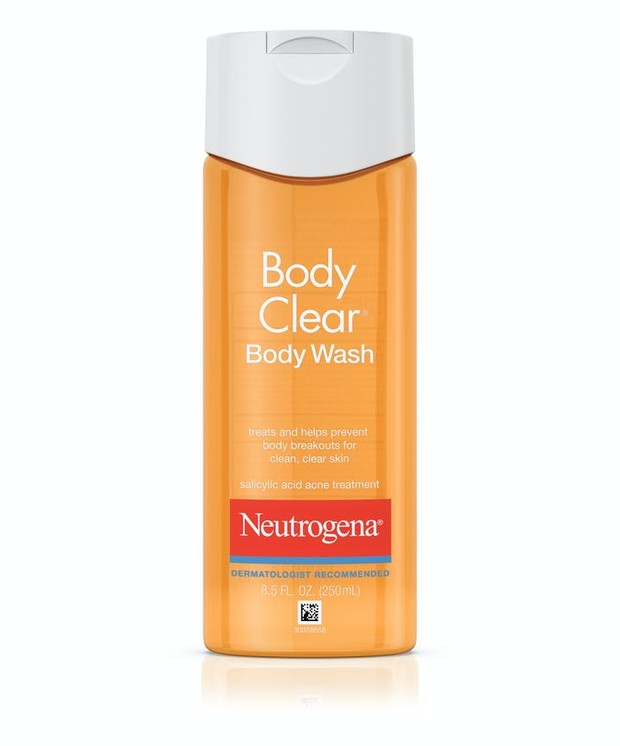 Neutrogena Body Clear Acne Body Wash.