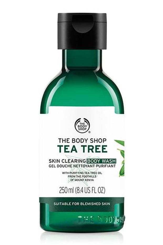 The Body Shop Tea Tree Body Wash.