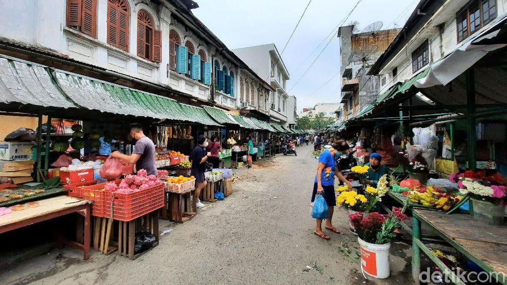 Ini Pasar Terpendek di Medan, Namanya Pasar Hindu