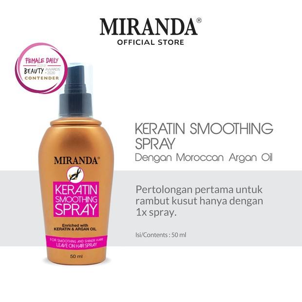 Spray keratin rambut praktis