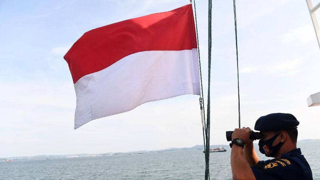 KPLP Terus Berpatroli untuk Jaga Perairan Perbatasan