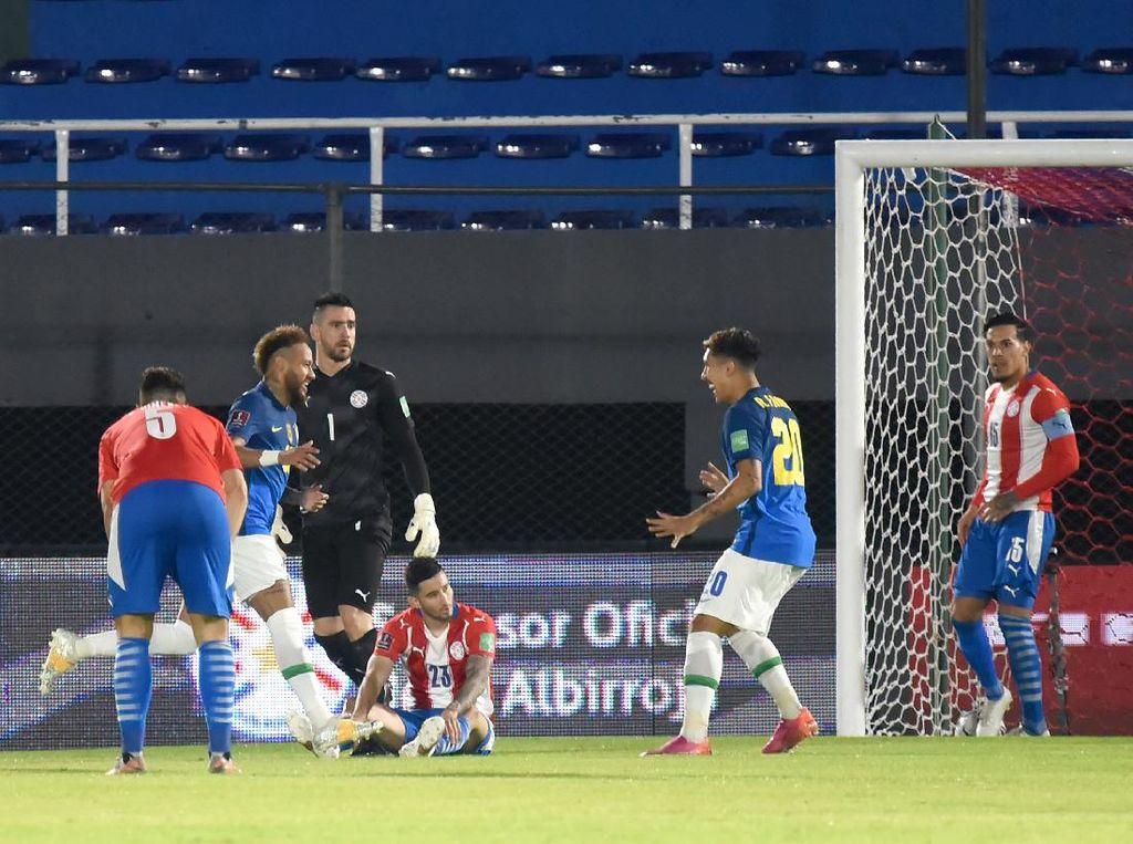 Paraguay Vs Brasil: Neymar dkk Menang 2-0 di Kualifikasi Piala Dunia 2022