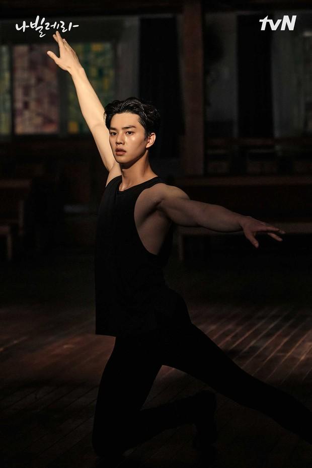 Lee Chae-rok saat berlatih ballet