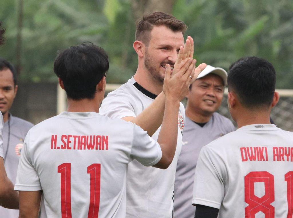 Marco Motta Sudah Bergabung di Latihan Persija Jakarta