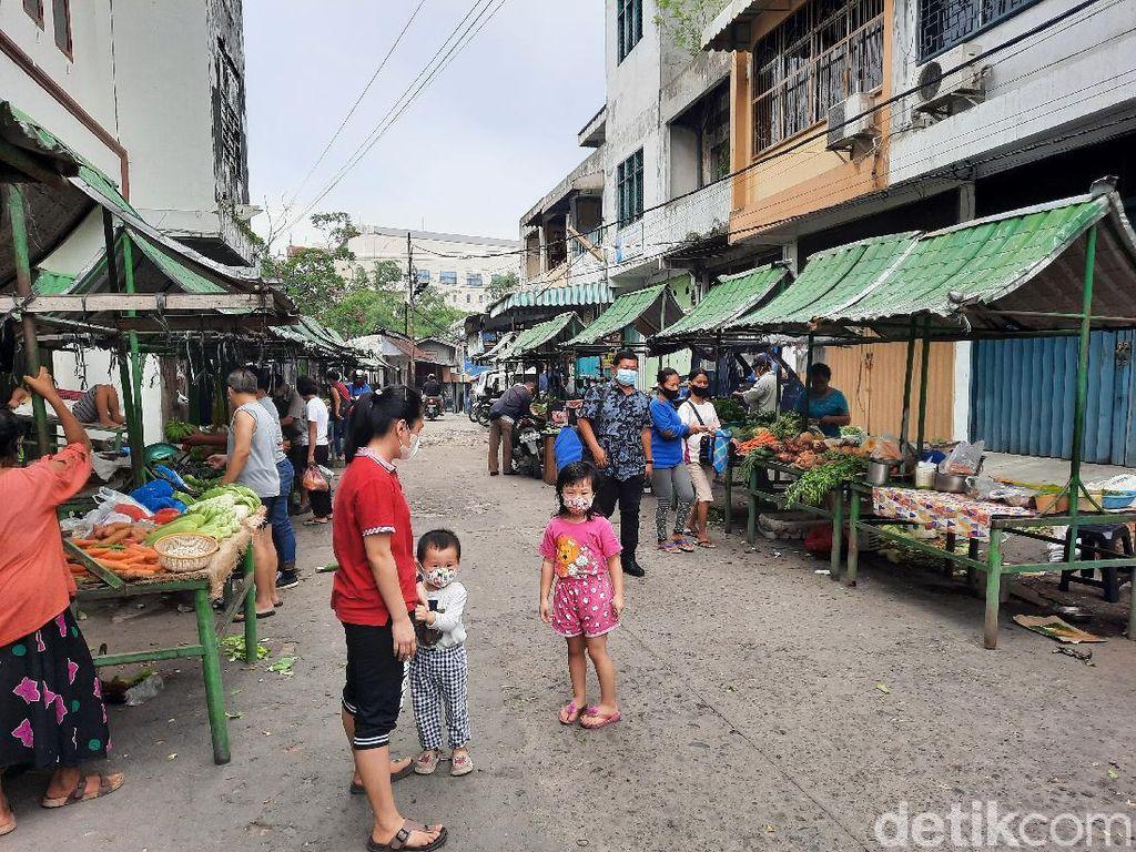 Potret Pasar Hindu Medan, Terkecil di Indonesia?