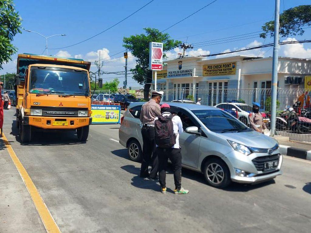 Penyekatan Suramadu Dibuka Dua Jalur, Selain Warga Madura Dilarang Masuk