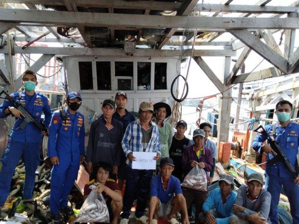2 Kapal Vietnam Ditangkap di Natuna, 17 ABK Tersangka UU Cipta Kerja