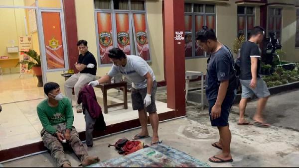 Pria di Bengkulu berinisial RD ditangkap Polres Kepahiang usai membunuh mantan bosnya, AD (dok Istimewa)